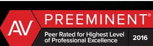 AV Preeminent Award 2016