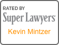 Super Lawyers Award logo Kevin Mintzer